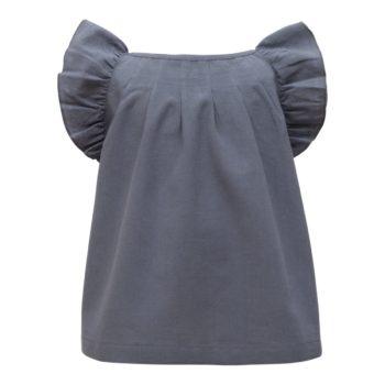 Tunika til piger blågrå