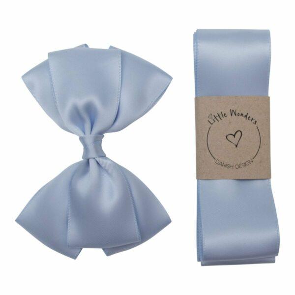 Babtismboys307 | Dåbs sæt til drenge i lyseblå silke