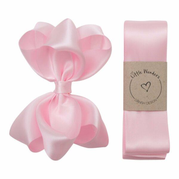 Babtismgirl123 | Dåbs sæt til piger i lyserød silke