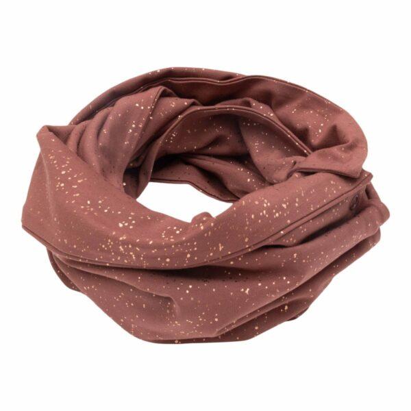 CR1 7514 | AW19 Anna Tube tørklæde til børn i Apple Butter med glitter