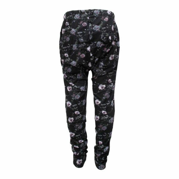 CR1 7702 Edit | AW19 Saga Teen Baggy Pants i black flowerprint