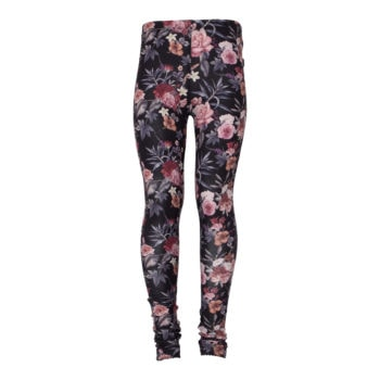 Celia leggings til piger i Warm Fall Flowerprint