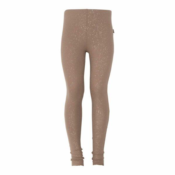 Chestnut Gitls leggtings | BA Chestnut brune leggings med glimmerprint
