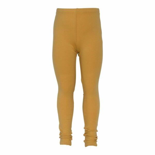 Curry girls leggings | AW19 Karry gule leggings til piger fra Little Wonders