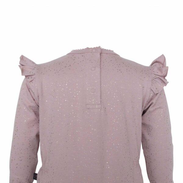 DR Bodysuit back  1 | Bianca Heldragt i Chestnut med glitter print