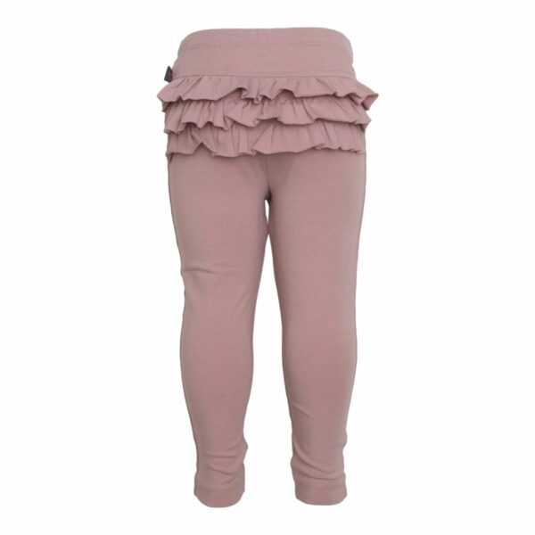 Dusty Rose frill leggings | Støvede Rosa Leggings med flæser