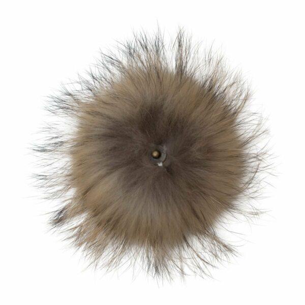 Fur Nature nack 1 | Pelskvast - Mørk natur med tryklås