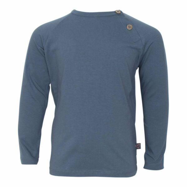 Grey boys Tshirt front | Koksgrå bluse til drenge fra Little Wonders