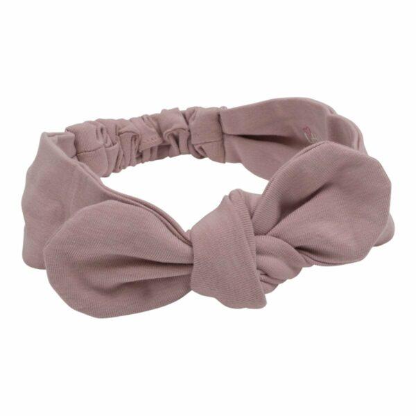 Headband dusty rose | Støvet rosa Jersey Hårbånd - One size