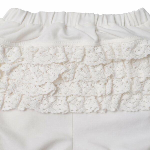 LW 9985   Off white bloomers med blondenumse