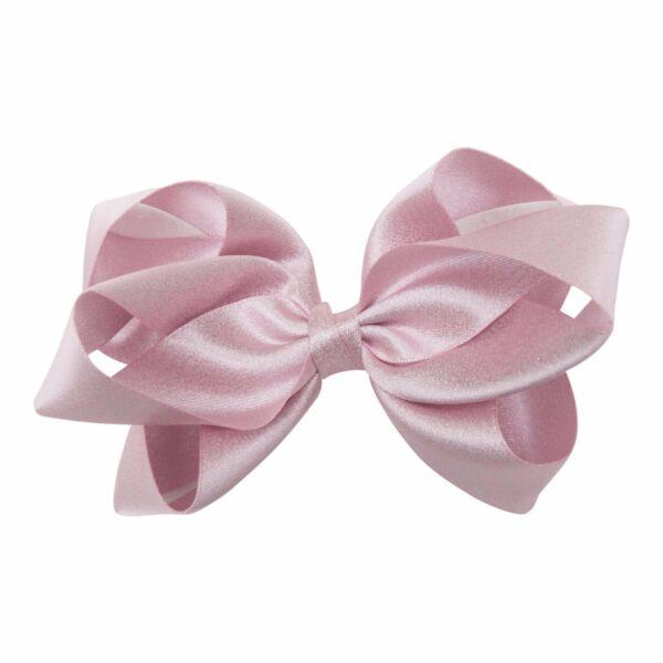 Molly Pearl Pink 123   Glitter dåbs sæt til piger i lyserødt satin