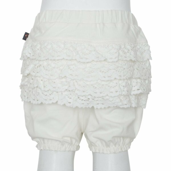 Off White lace bloomrs   Off white bloomers med blondenumse