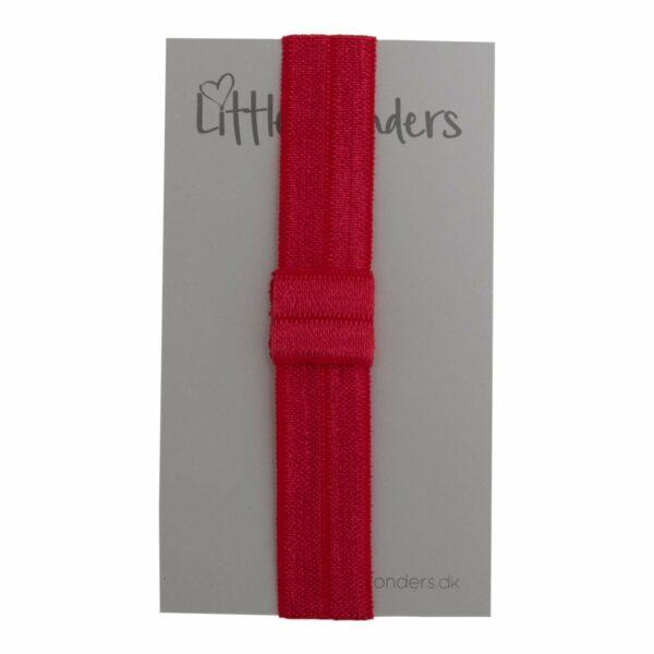 OliviaHvid 3 | Elastik hårbånd til sløjfer -Rød