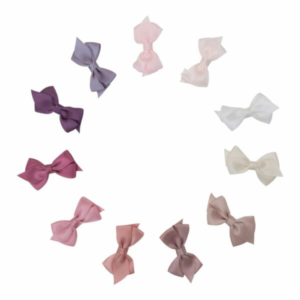 Viola Silk All | VIOLA - Lille flad 6 cm. sløjfe i satin