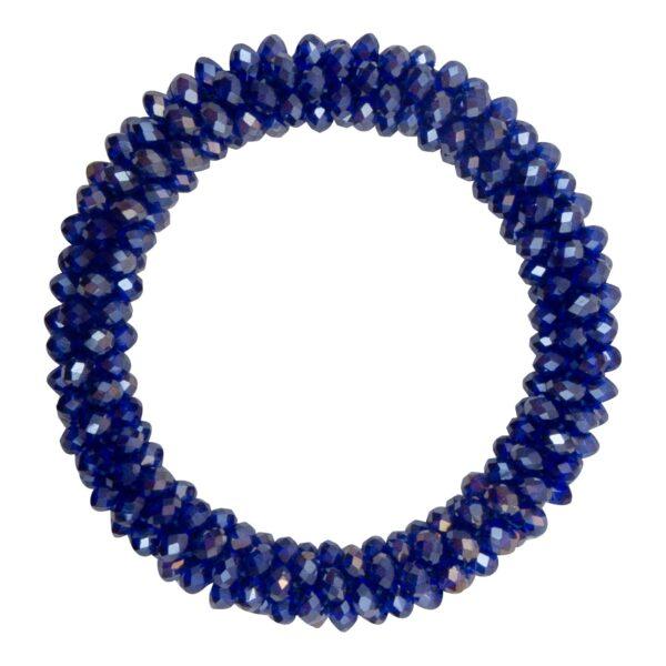 CR1 7536 Edit 1 | Konge blåt LW glitter perle armbånd