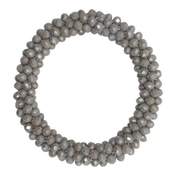 CR1 7544 Edit 1 | Lysegråt LW perle armbånd