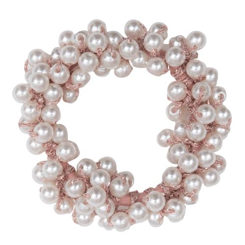CR1 7930 removebg preview | Rosa elastik med hvide perler fra Little Wonders