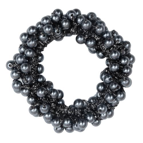 CR1 7935 removebg preview | Sort elastik med koksgrå perler fra Little Wonders