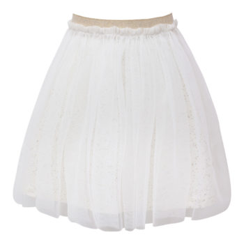 Off White Britney tyl nederdel med glitter