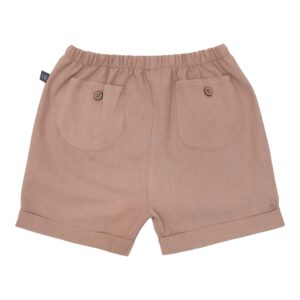 Chestnut brune Bertram hør shorts 110-116