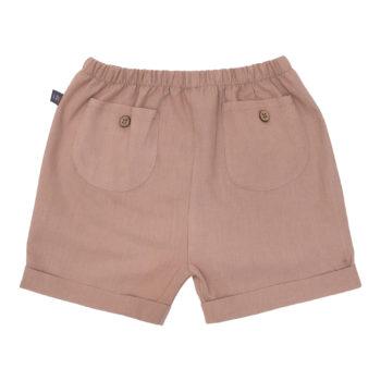 Chestnut brune Bertram hør shorts 110-116