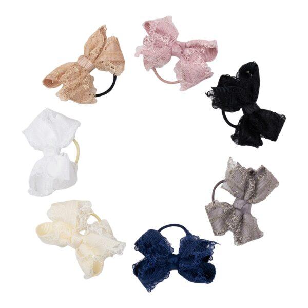 LUCIA - Lille blonde sløjfe på elastik