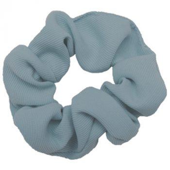 Støvet blå scrunchie